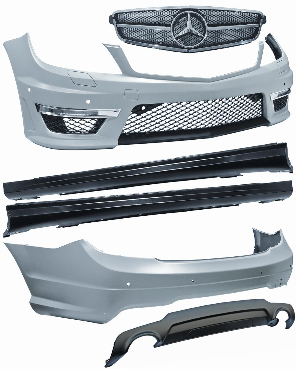 KIT COMPLETO LOOK AMG MERCEDES W204, 2011-