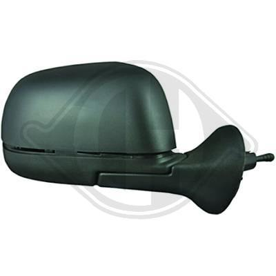 ESPEJO RETROVISOR DERECHO DACIA DUSTER 10-, REGULABLE MANUAL, CO