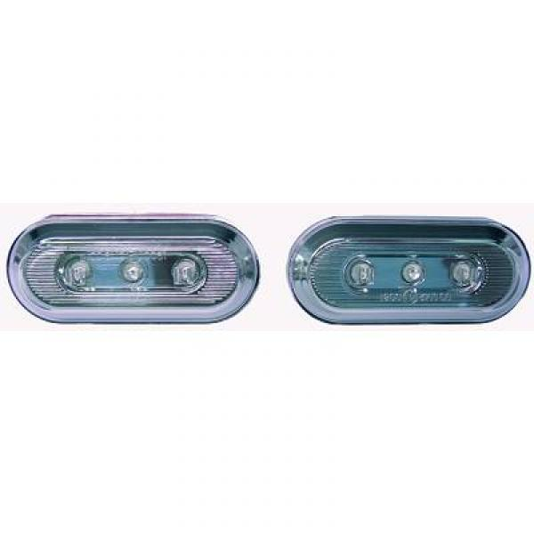SET INTERMITENTES DE DISEÑO  VW+SEAT,97->> LED, CRISTAL CLARO/CR