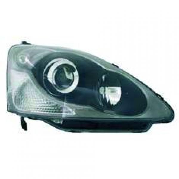 FARO IZQ. CIVIC, 03-05 SEDAN/ BERLINA; TYC; PARA SISTEMA REGULAC