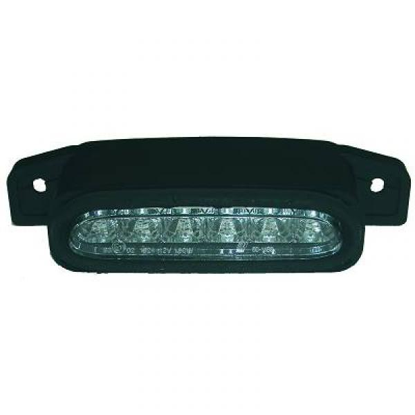 LUCES DE FRENO MX5, 98->> LED; CRISTAL CLARO/CROMADO