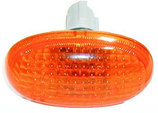 INTERMITENTE LATERAL DCH./IZQ.  MATIZ, 98->> NARANJA CON BASE; T