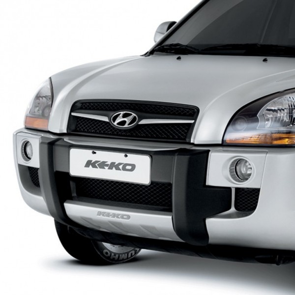 DEFENSA FRONTAL ABS HYUNDAI TUCSON NEGRO