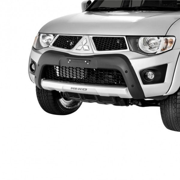 DEFENSA FRONTAL ABS MITSUBISHI L200 TRITON NEGRO